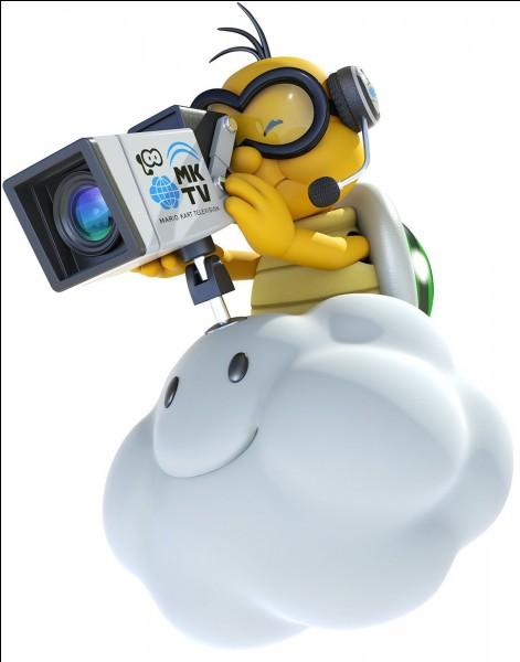 Lakitu, la tortue sur un nuage, est-elle présente dans ce jeu ?