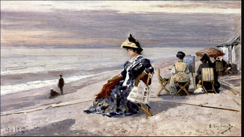 1824-1896. Son nom est associé à Veules-les-Roses en Seine-Maritime où il vécut et peignit de nombreuses toiles dont la plupart sont conservées au musée national des Beaux-Arts de Saratov en Russie. Quel est ce peintre marine de nationalité russe qui laissa son empreinte en Normandie ?