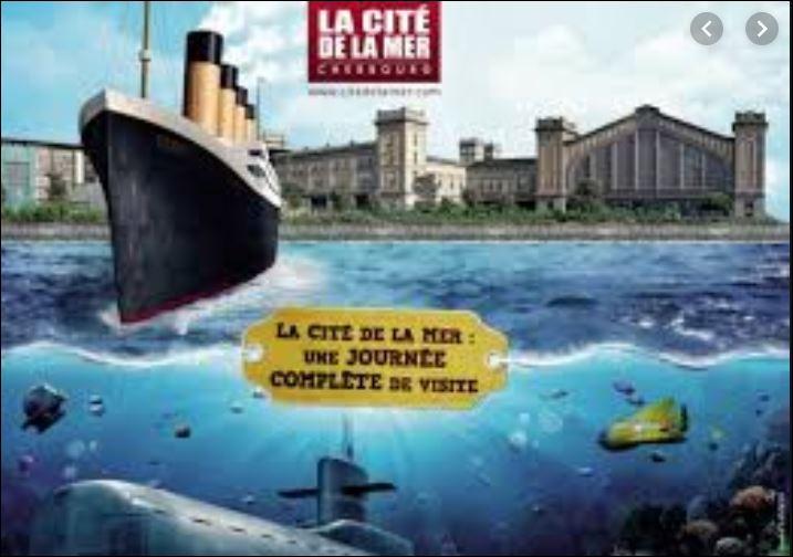 Les plus illustres océanautes internationaux figurent sur le mur des explorateurs de la Cité de la Mer de Normandie. Où dois-je me rendre pour découvrir entre autres des submersibles qui ont participé à l'exploration des fonds marins ?