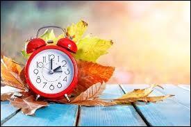 Que se passe-t-il le dernier dimanche d'octobre ?