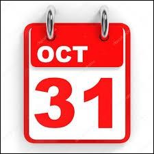 Quel prénom fête-t-on le 31 octobre ?