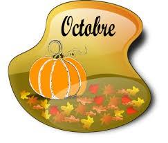 Bienvenue en octobre