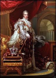 Durant quel siècle Charles X fut-il roi de France ?