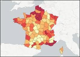 Les départements suivants, 30, 31, 32, 33 et 34 se situe TOUS dans la même région.