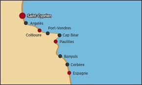 Port-Vendres et Cerbères sont des villes d'Occitanie.