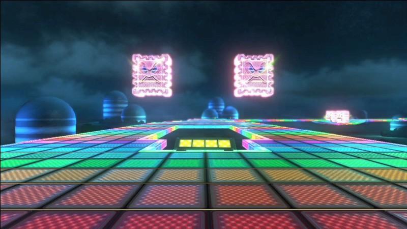 Il est désormais possible de jouer sur la route Arc-en-ciel depuis la mise à jour, seulement c'est la route Arc-en-ciel de quel Mario Kart ?