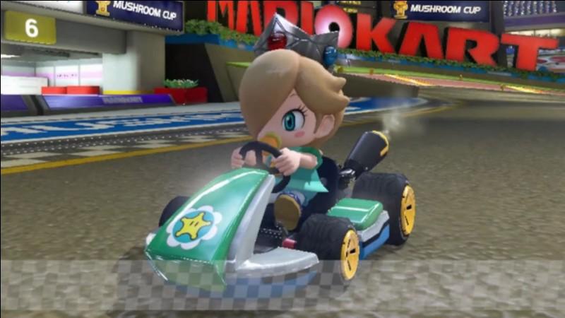 """Un nouveau bébé, """"Bébé Harmonie"""", présente dans Mario Kart Tour, l'était pour la première fois dans un Mario Kart précédent. Quel était cet opus précédent ?"""