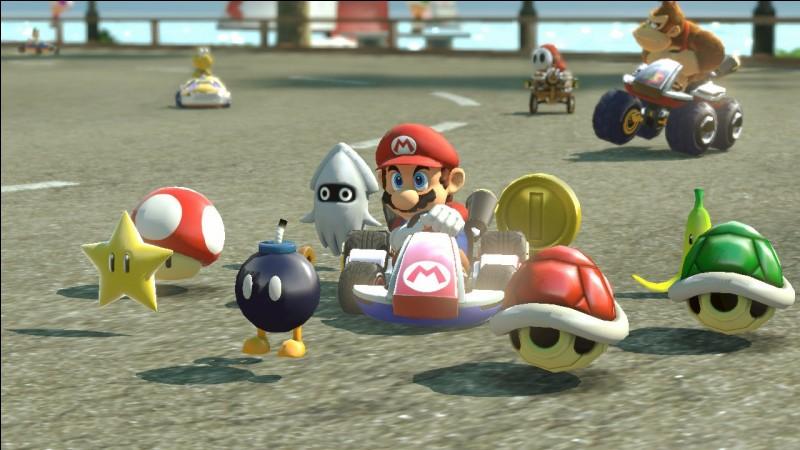 Quel est l'objet principal utilisable par Mario ?