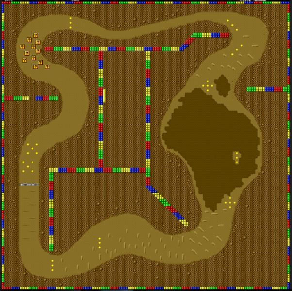 """L'Île """"Choco 2 de la SNES"""", également présente dans Mario Kart DS fait-elle partie des tout nouveaux circuits rétros ?"""