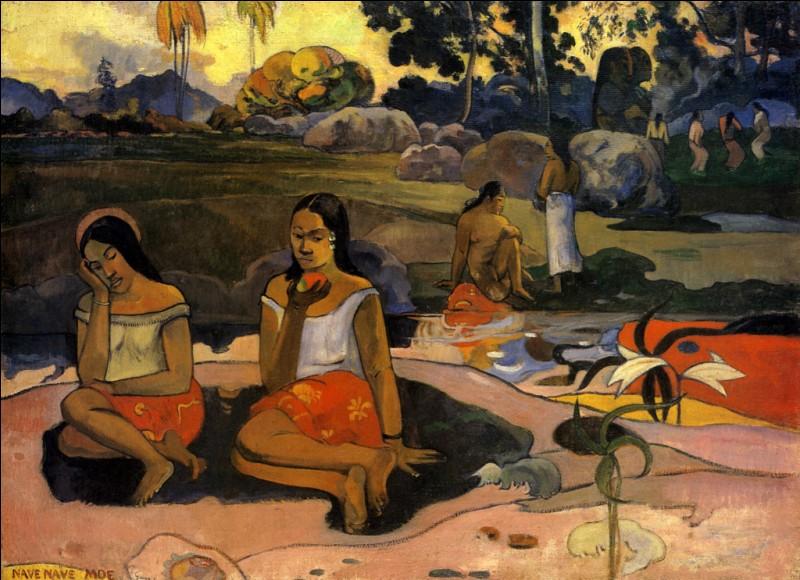 Le peintre Paul Gauguin a peint beaucoup de toiles de femmes polynésiennes.