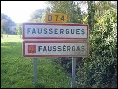 Nous sommes en Occitanie, à l'entrée de Faussergues. Commune du Ségala, elle se situe dans le département ...