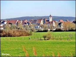 Commune Haut-Saônoise, Marnay se situe en région ...