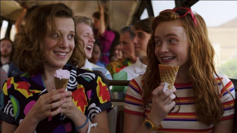 Qui sont ces 2 amies qui savourent des glaces ?