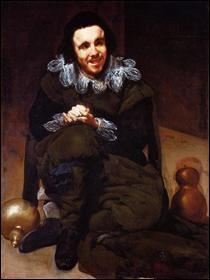"""Qui a peint """"Le bouffon Calabacillas, appelé à tort l'idiot de Coria"""" ?"""