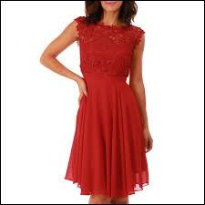 Vous voyez une belle robe, que demandez-vous ?