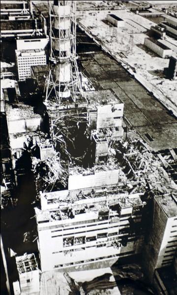 En quelle année a eu lieu la catastrophe nucléaire de Tchernobyl ?