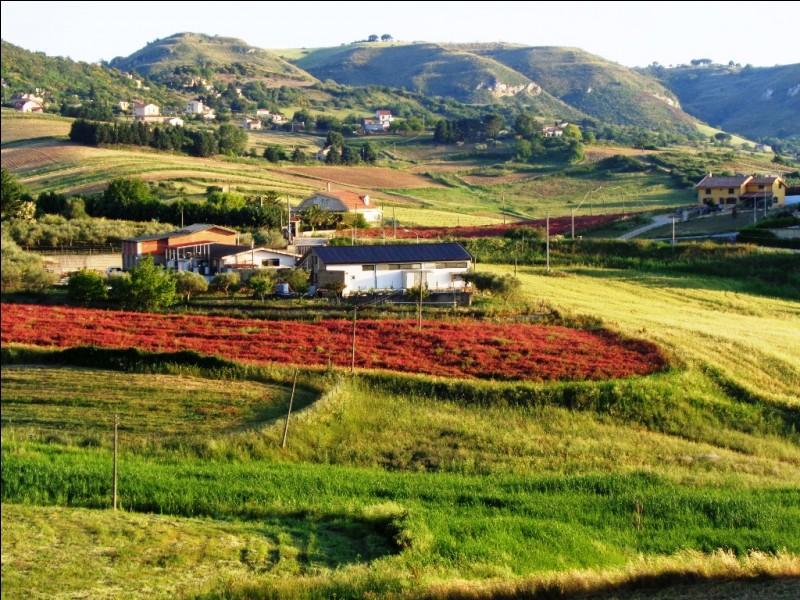 Les touristes connaissent peut-être moins l'intérieur des terres de la Sicile. Quel paysage y rencontrerez-vous majoritairement.