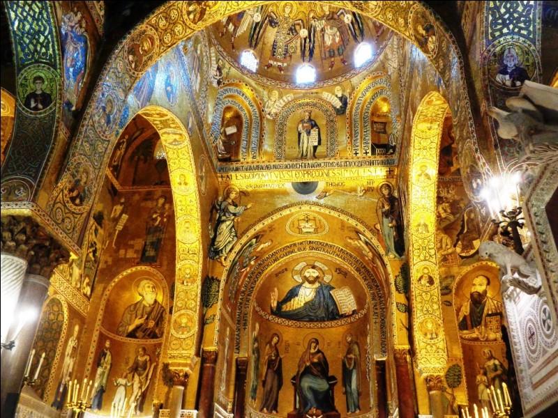 Au sein de quel édifice remarquable de la ville de Palerme pourrez-vous contempler la chapelle palatine et ses superbes fresques ?