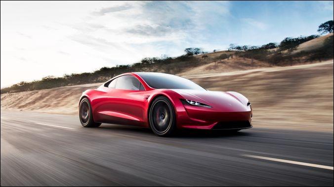 Le nouveau Tesla Roadster doit concurrencer ...