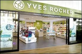 En quoi est spécialisé l'industrie Yves Rocher ?