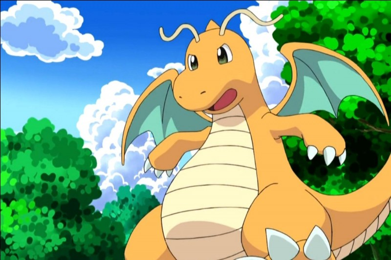 Le type dragon est de couleur :