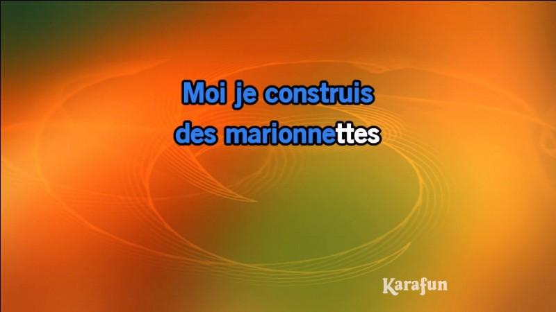 """""""Les marionnettes"""" : Artiste n°1 ou artiste n°2 ?"""