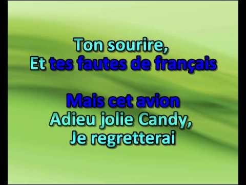 """Adieu jolie Candy"" : Artiste n°1 ou artiste n°2 ?"