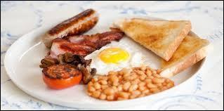 Ton petit-déjeuner est composé de...