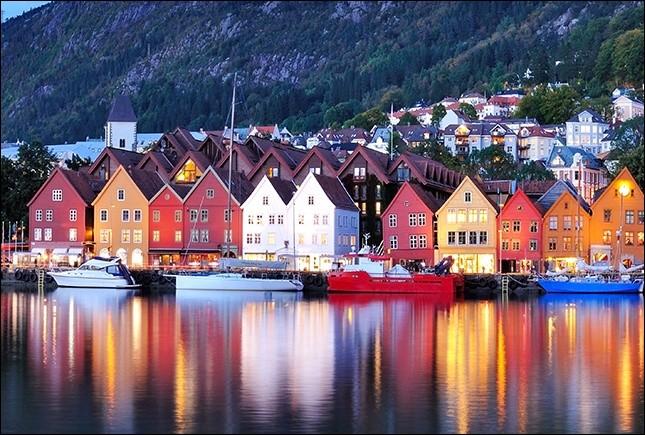 Quel est le nom de cette ville située en Norvège ?