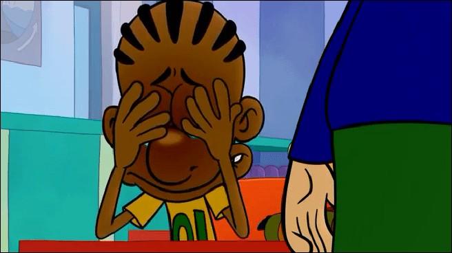 """Dans l'épisode """"J'ai perdu mon pépé"""", pourquoi Maxime pleure-t-il ?"""