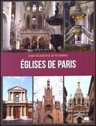 Quelle église parisienne trouve-t-on dans le roman Da Vinci Code ?