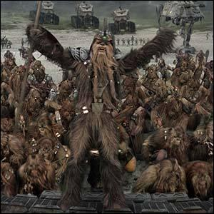 Qui part aider les Wookies ?