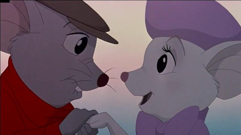 Dans quel dessin animé voit-on 2 petites souris qui aident une certaine Penny, orpheline ?