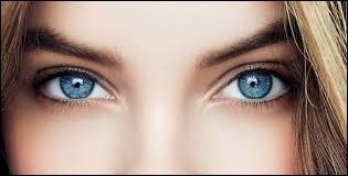 Dans la chanson parodie des Inconnus, quelle fille a les yeux bleus?
