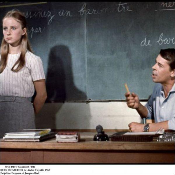 Dans lequel de ces films, le professeur est-il accusé, par les élèves de sa classe, de pédophilie ?