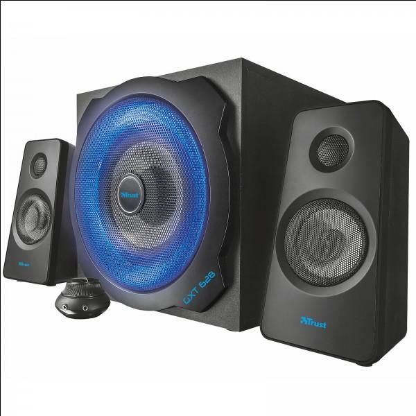 Lui a pour fonction d'amplifier le volume du son. Ceci est...
