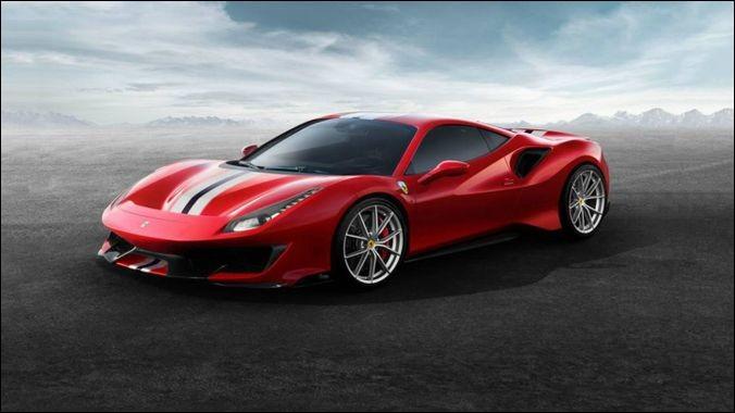 """Quel est le modèle de cette """"Ferrari"""" ?"""