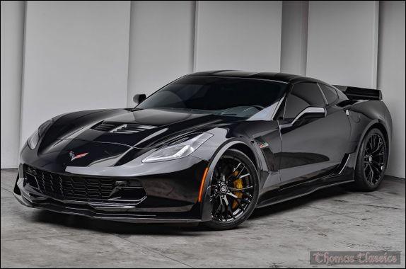 """Quel est le modèle de cette """"Corvette"""" ?"""
