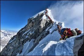 Quelle est l'altitude du point culminant de la planète ?