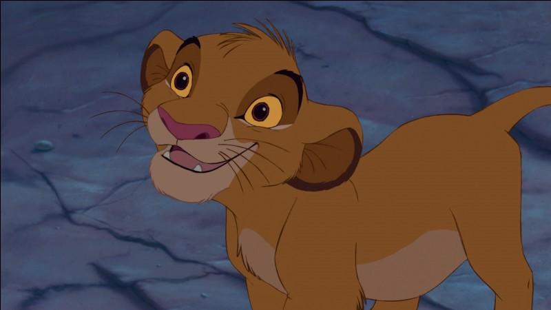 """Qui a fait la voix française de """"Simba"""" enfant ?"""