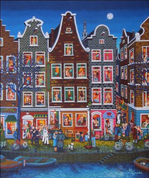 """Complétez les paroles de la chanson de Brel : """"Dans le port d'Amsterdam, y a des marins..."""