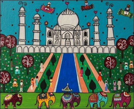 Dans quelle ville peut-on admirer le Taj Mahal ?
