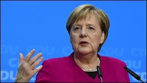 Cette femme politique allemande, chancelière fédérale depuis le 22 novembre 2005, se prénomme ...