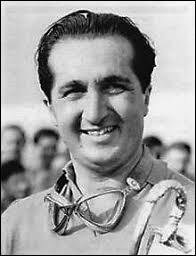 Ce pilote automobile italien, légende de la Formule 1, champion du monde à deux reprises en 1952 et 1953, c'est ... Ascari.