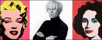 Cet artiste américain, l'un des principaux représentants du pop art, se prénomme ...