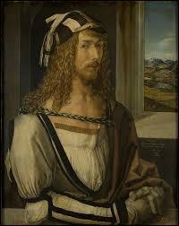 Ce peintre allemand, auteur de cet autoportrait, c'est ... Dürer