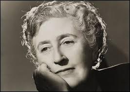 """Cette femme de lettres britannique, auteure de nombreux romans policiers, notamment """"les Dix petits nègres"""" et la série """"Hercule Poirot"""", se prénomme ..."""