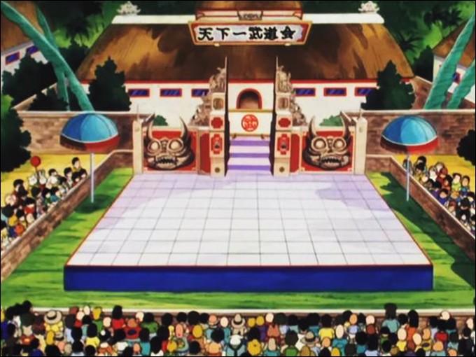 Comment s'appelle le personnage qui affronte Goku en quart de finale lors du 21e Tenkaichi Budokai ?