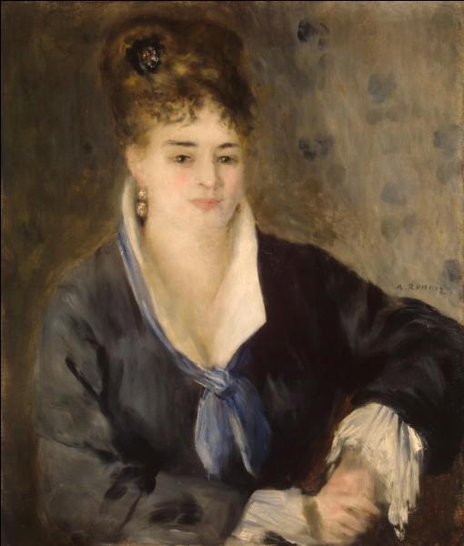 Qui est le peintre de cette femme ?