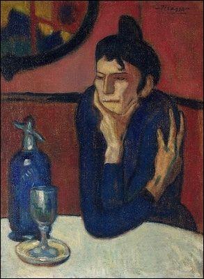"""Qui a fait le portrait de """"La Buveuse d'absinthe"""", coiffée d'un chignon ?"""